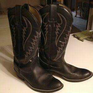 Express Rider Trivette Black Boot